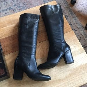 Nine West Leather Boots!
